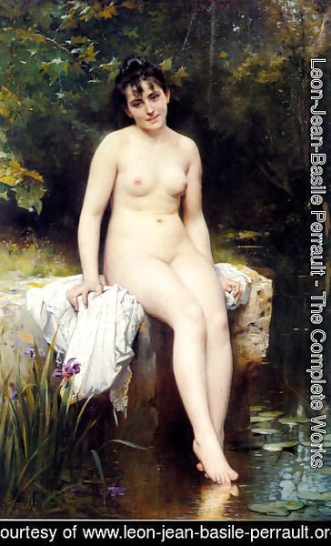 Leon-Jean-Basile Perrault - The Bather 2